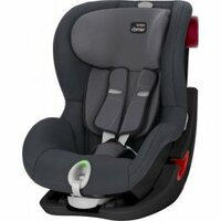 Autosedačka King II LS Storm Grey Black Edition 9-18kg