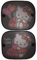 Tienidlo na okno auta 2 ks Hello Kitty