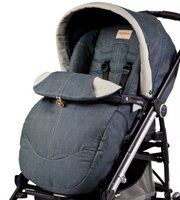 Sedadlo Pop Up Completo - Blue Denim ku kočíku Peg Perego