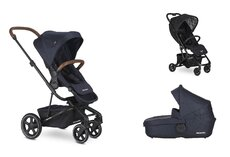 Dvojkombinácia  Harvey2 Premium Sapphire Blue + Buggy XS Oxford Black Mini za 0,01 €