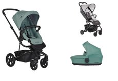 Dvojkombinácia Harvey2 Coral Green + Buggy XS Mickey Shield Disney za 0,01 €