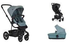 Dvojkombinácia Harvey2 Ocean Blue + Buggy XS Oxford Black Mini za 0,01 €