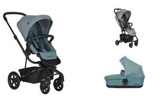 Dvojkombinácia Harvey2 Ocean Blue + Buggy XS Soho Grey Mini za 0,01 €