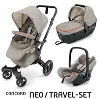 Travel Set Neo Air+Sleeper Cool Beige Concord 2016