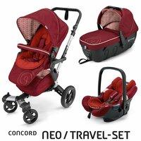 Travel Set Neo Air+Sleeper Tomato Red Concord 2016