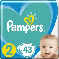Plienky New Baby-Dry 2 MINI 4-8kg 43ks Pampers