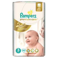 Plienky Pampers Premium Care Midi 60ks 5-9kg