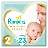 Plienky Premium Care 2 MINI 4-8kg 23 ks Pampers