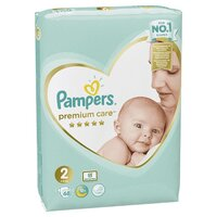 Plienky Premium Care 2 MINI 4-8kg 68 ks Pampers