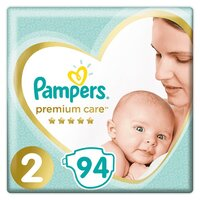 Plienky Premium Care 2 MINI 4-8kg 94 ks Pampers