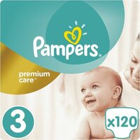 Plienky Premium Care 3 MIDI 5-9kg 120ks Pampers