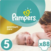 Plienky Premium Care 5 JUNIOR 11-16 kg 88 ks Pampers