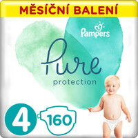 Plienky Pure Protection 4 (9-14 kg) 160 ks