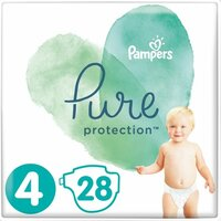 Plienky Pure Protection 4 MAXI 9-14kg 28ks Pampers