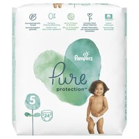Plienky Pure Protection 5 JUNIOR 11-16kg 24ks Pampers