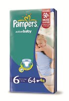 Pampers Giantpack m2 extra large 64 ks 16kg+