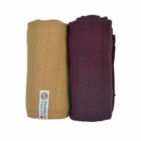 Plienky Swaddler Solid Honey/Nocture 2ks Lodger