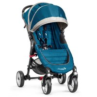 Kočík Baby Jogger BJ10429 City Mini Single 4W -TEAL/GRAY - VYSTAVENÝ KUS