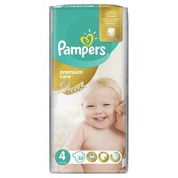 Plienky Pampers Premium Care Maxi 52ks 8-14kg