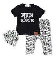 be39d62f90451 Set 2-dielny+šál A-SO BRIGHT RUN YOUR OWN RACE 62 Black
