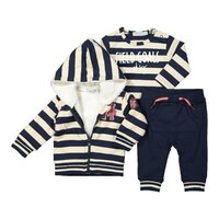 Set 3-dielny Z-SO FRESH READY TO GO Navy + beige melee stripe 74