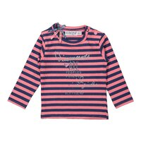 Tričko stripe Z-SO FRESH ALL YOU NEED Pink + faded dark blue stripe 80