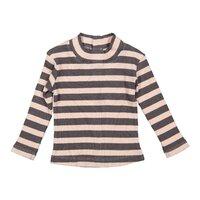01d0a6818c72 Tričko Z-PRETTY LADY Powder pink + dark plum stripe 86