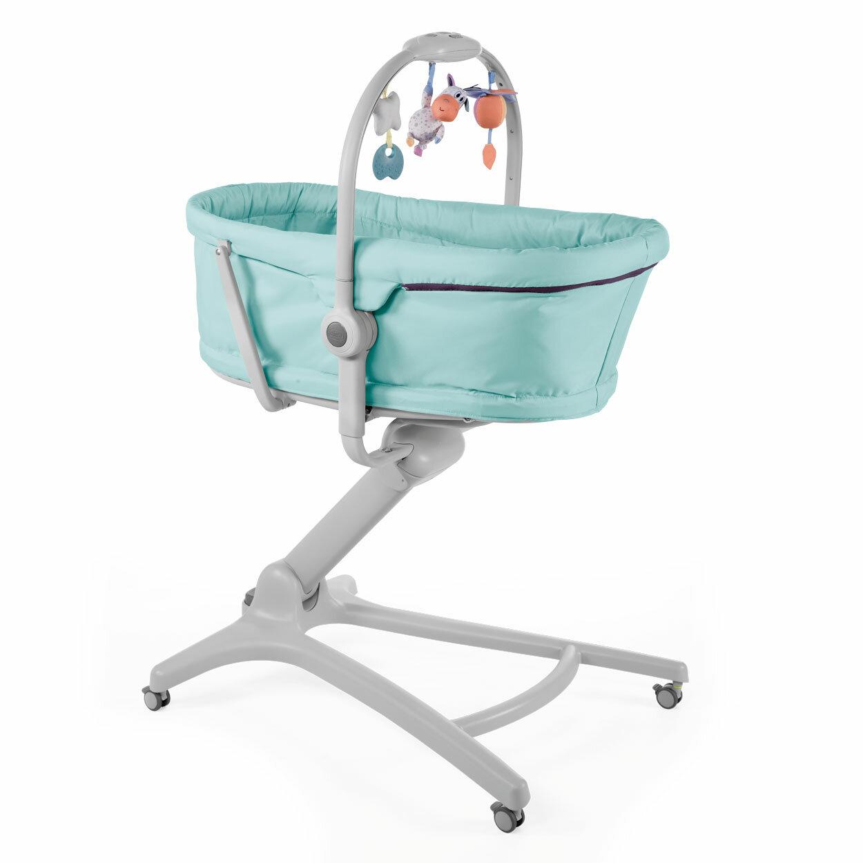 Postieľka/lehátko/stolička Chicco Baby Hug 4v1 - Aquarelle Chicco