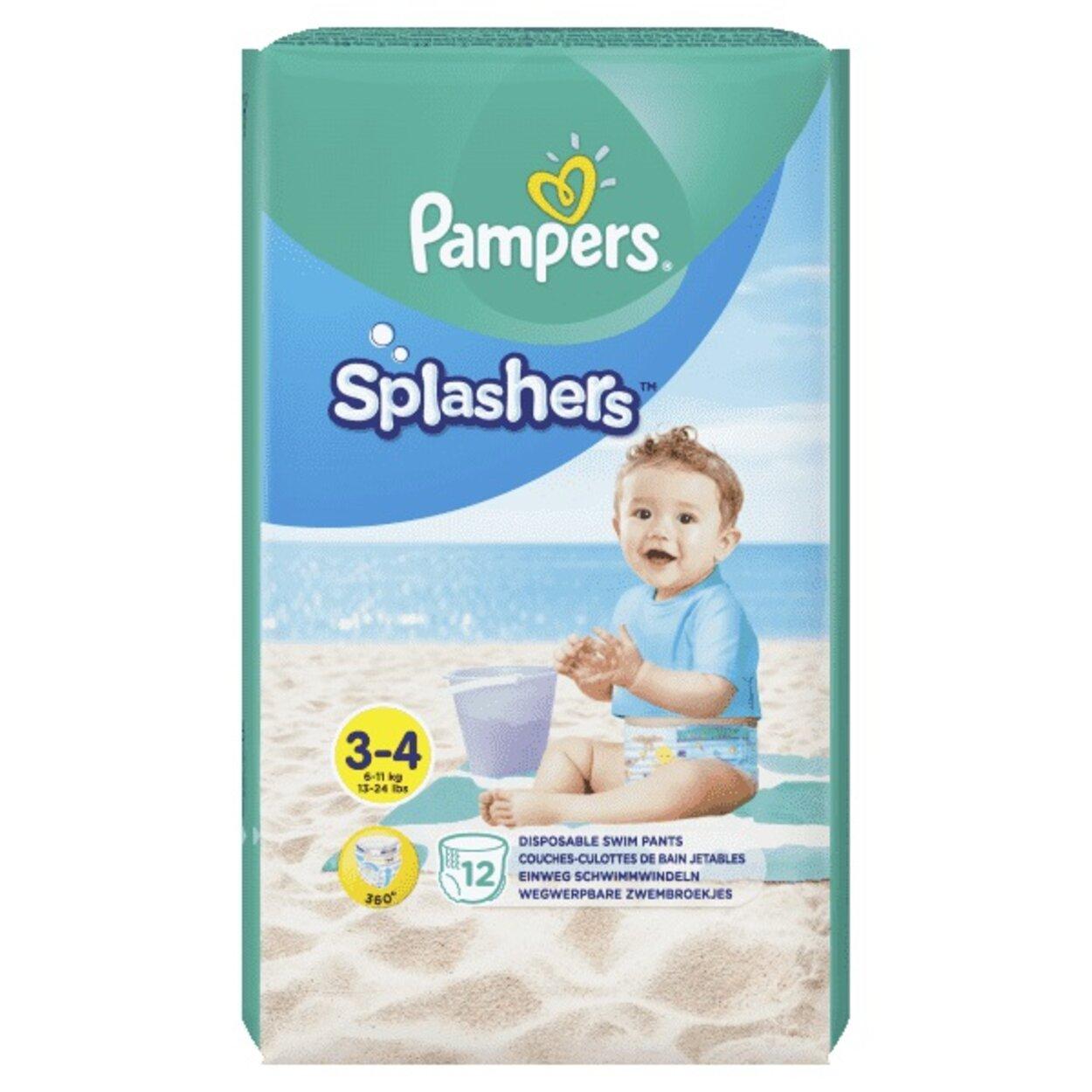 8b2314858 Plienky do vody Splashers 6-11kg 12ks Pampers | Predeti.sk