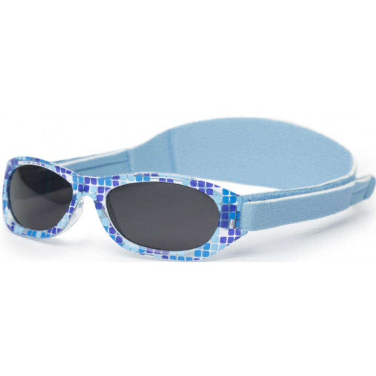 Okuliare slnečné nastaviteľné Blue Squares Kiddus 6e7346c64b2